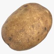 Kartoffel 01 Spiel bereit 3d model