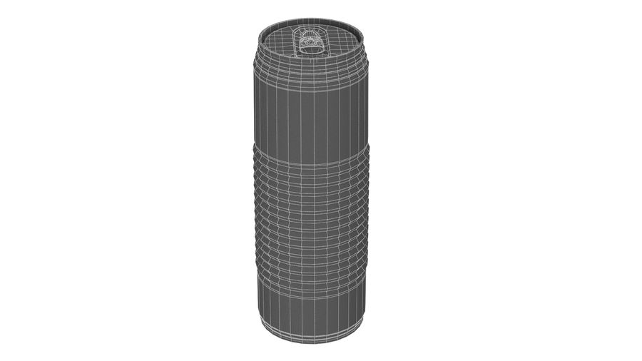 Aluminum Soda Can 01 royalty-free 3d model - Preview no. 13