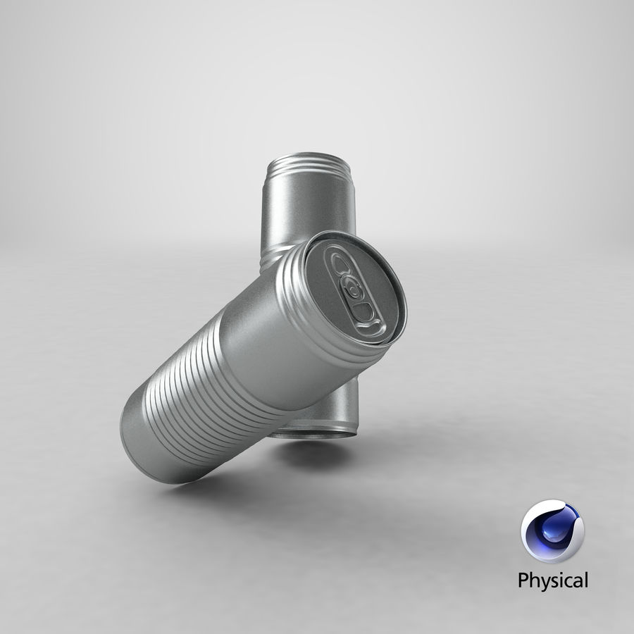 Aluminum Soda Can 01 royalty-free 3d model - Preview no. 16