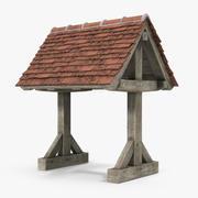 Tile Roof 3d model