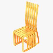 Gehry High Sticking Chair 3d model