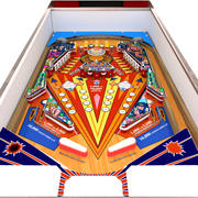 Low Poly Pinball: Red Show 3d model