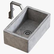Misturador para lavatório Quadrodesign 3d model