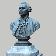 lomonosov anıtı 3d model