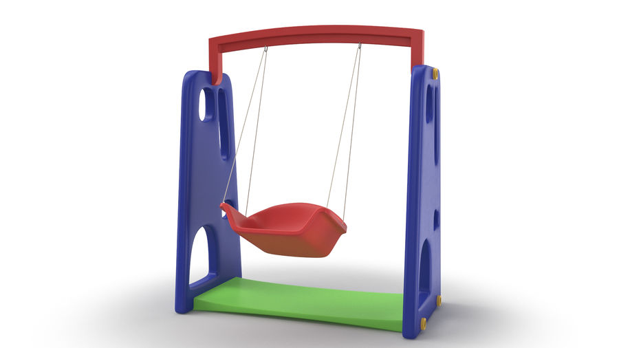 Swing Model 3D royalty-free 3d model - Preview no. 5