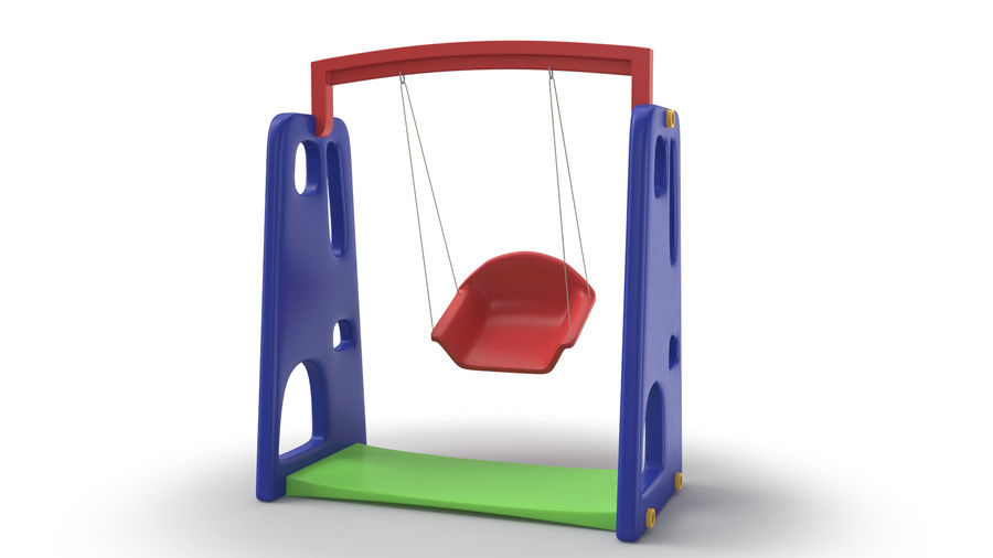 Swing Model 3D royalty-free 3d model - Preview no. 6