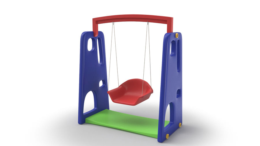 Swing Model 3D royalty-free 3d model - Preview no. 2