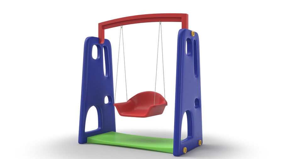 Swing Model 3D royalty-free 3d model - Preview no. 4