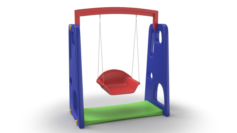 Swing Model 3D royalty-free 3d model - Preview no. 3