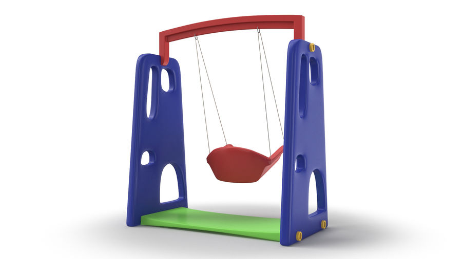 Swing Model 3D royalty-free 3d model - Preview no. 8