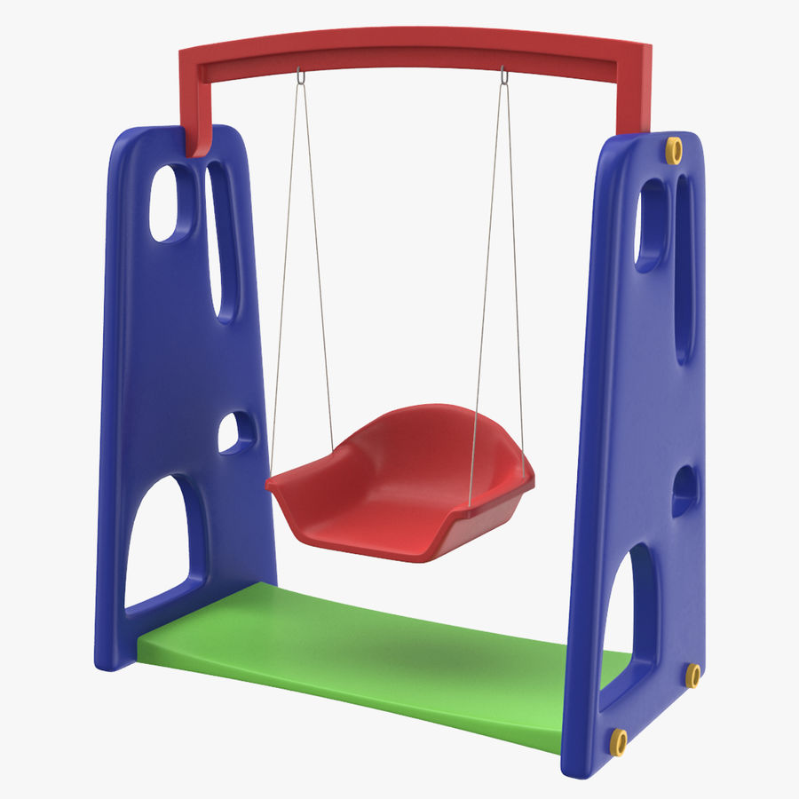 Swing Model 3D royalty-free 3d model - Preview no. 1