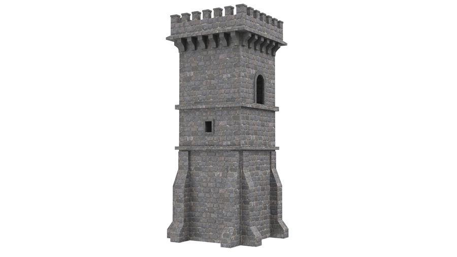 Torre da torre do castelo royalty-free 3d model - Preview no. 5