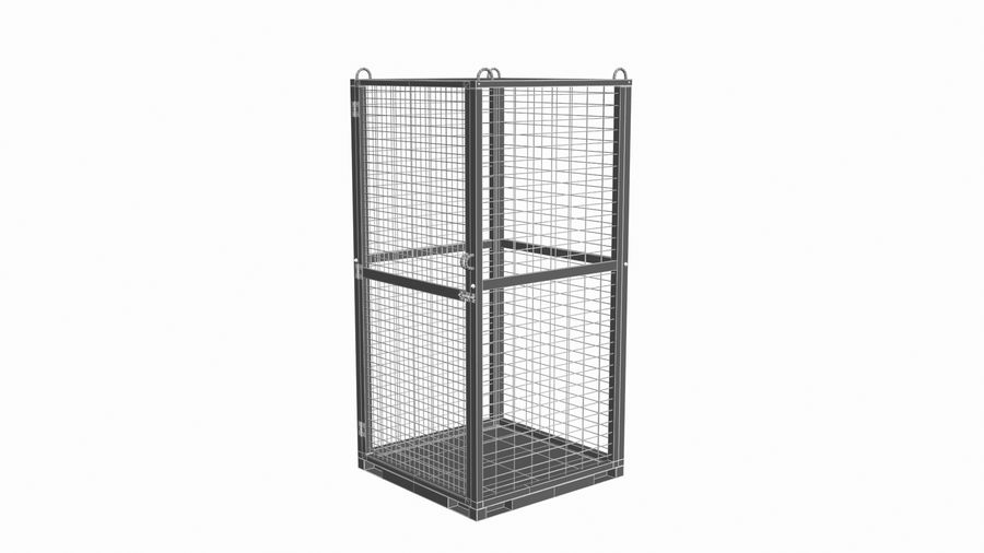 Storage Cage royalty-free 3d model - Preview no. 11
