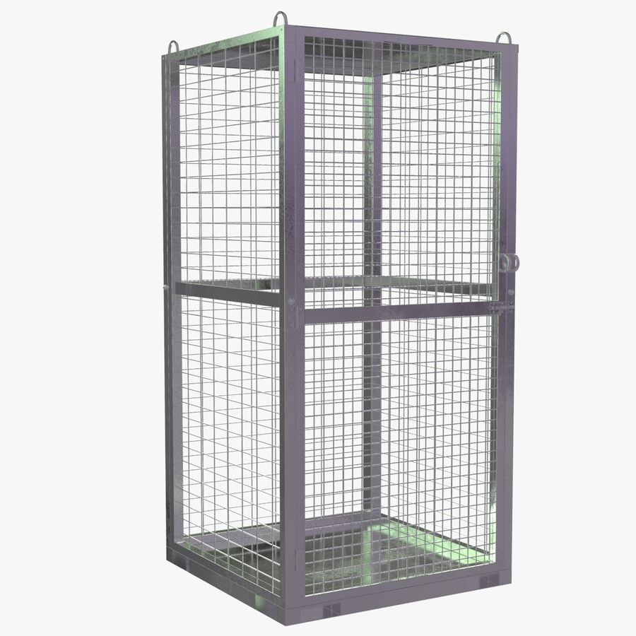 Storage Cage royalty-free 3d model - Preview no. 1