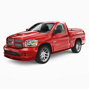 Dodge Ram SRT10 2006 3d model