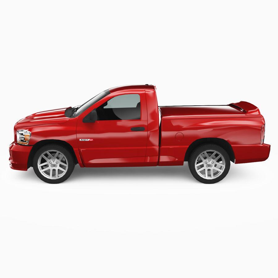 Dodge Ram SRT10 2006 royalty-free 3d model - Preview no. 4