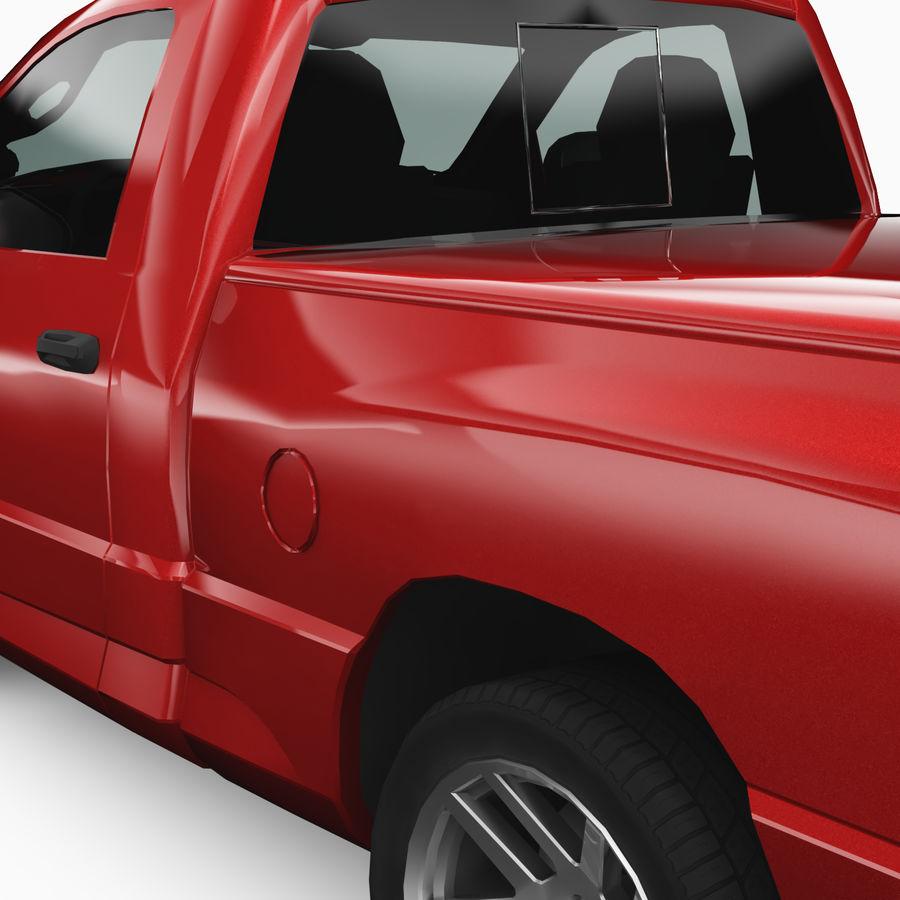 Dodge Ram SRT10 2006 royalty-free 3d model - Preview no. 6