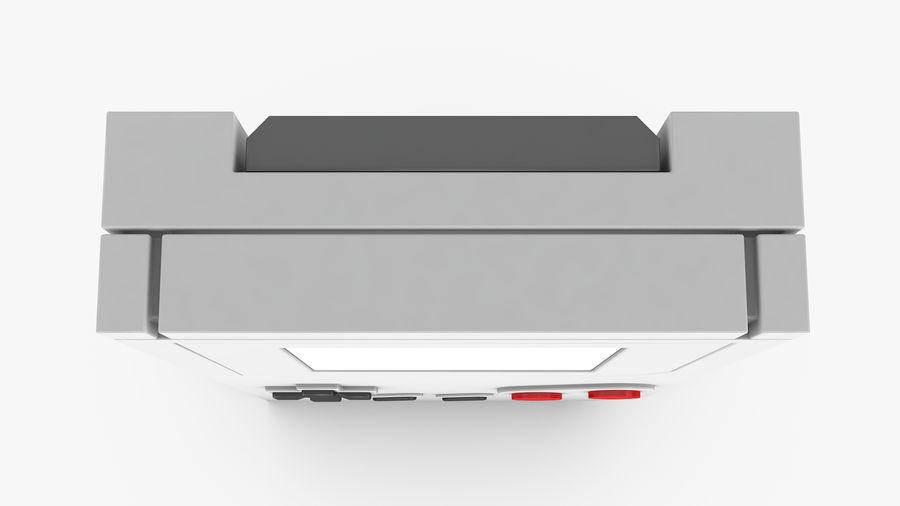 Consola de jogos portátil de 8 bits royalty-free 3d model - Preview no. 5