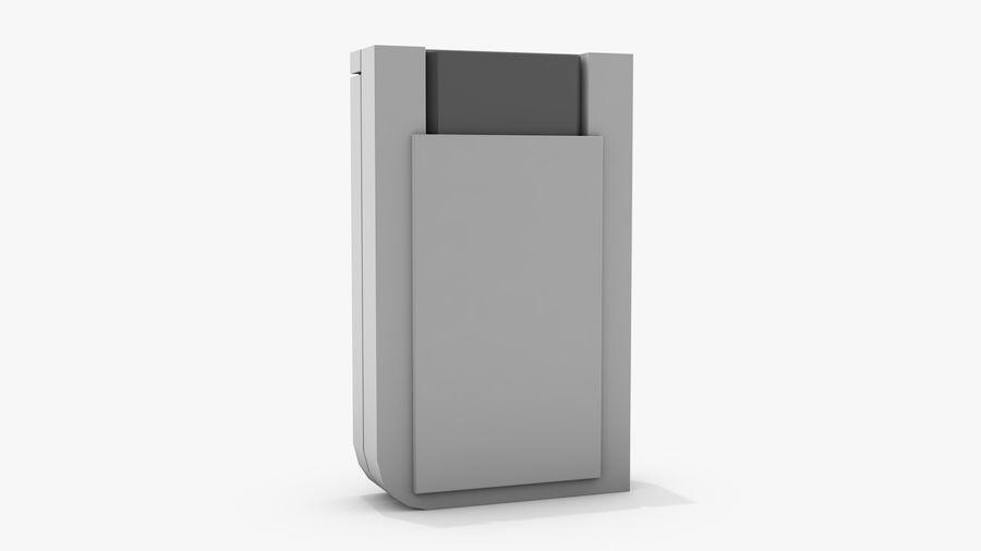 Consola de jogos portátil de 8 bits royalty-free 3d model - Preview no. 4