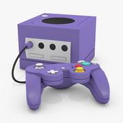 立方体游戏机 3d model