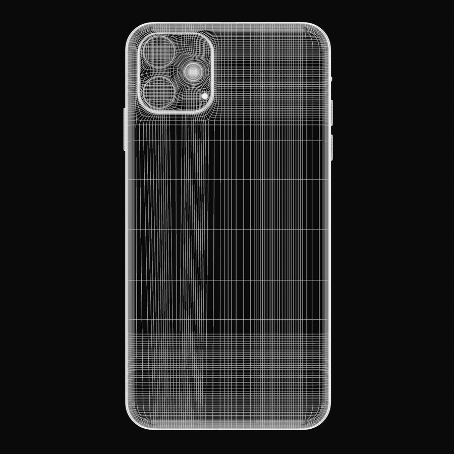 Iphone 11R royalty-free 3d model - Preview no. 10