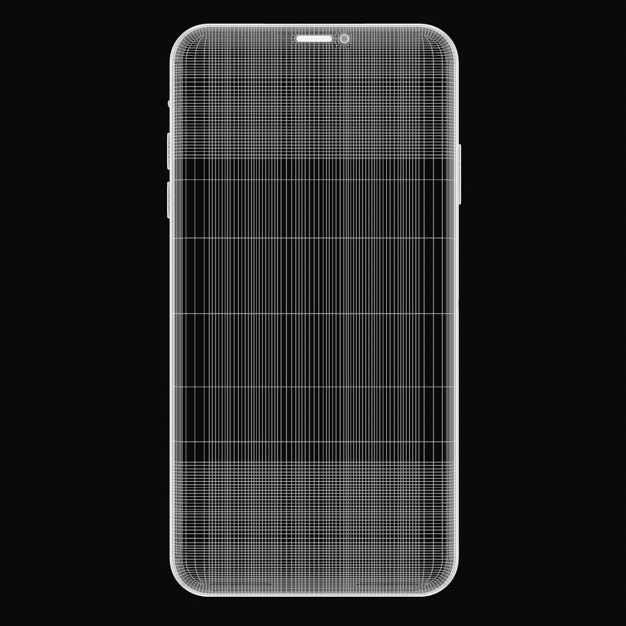 Iphone 11R royalty-free 3d model - Preview no. 12