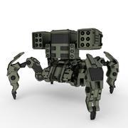 Spider mech Niszczyciel Modele 3D 3d model