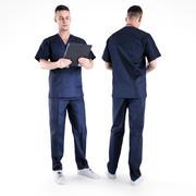 남성 외과 의사 01 3d model