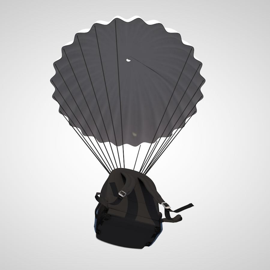 parachute royalty-free 3d model - Preview no. 1