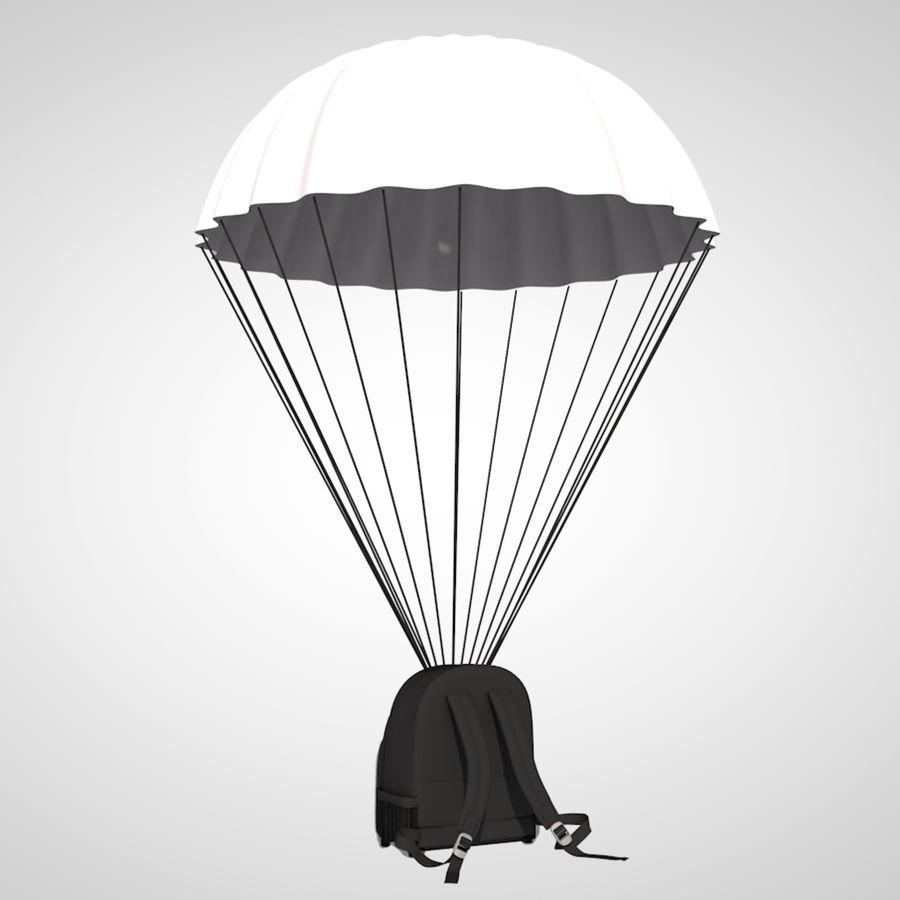 parachute royalty-free 3d model - Preview no. 5