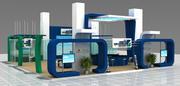 Modern Design Fair Stand 3d model