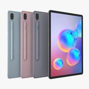 Samsung Galaxy Tab S6 All Color 3d model