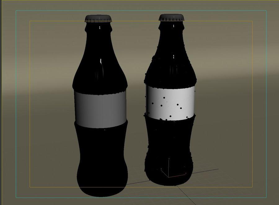 Bouteille de boisson froide royalty-free 3d model - Preview no. 7