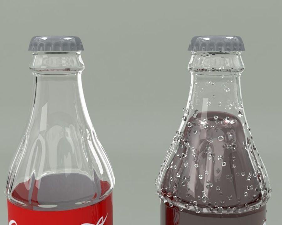 Bouteille de boisson froide royalty-free 3d model - Preview no. 3