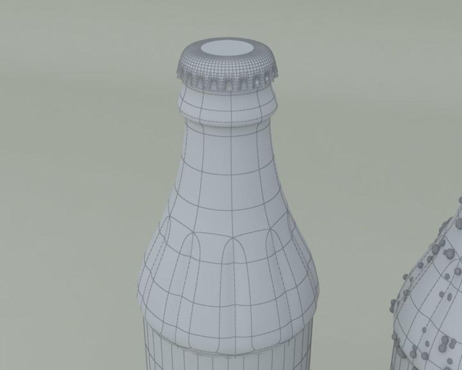 Bouteille de boisson froide royalty-free 3d model - Preview no. 5