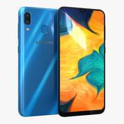 Samsung Galaxy A30 Blauw 3d model