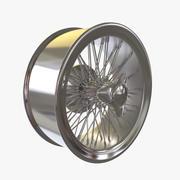 轮辐 3d model