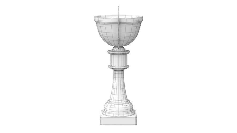 Trophy Cup royalty-free 3d model - Preview no. 13