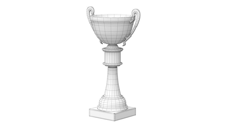 Trophy Cup royalty-free 3d model - Preview no. 12