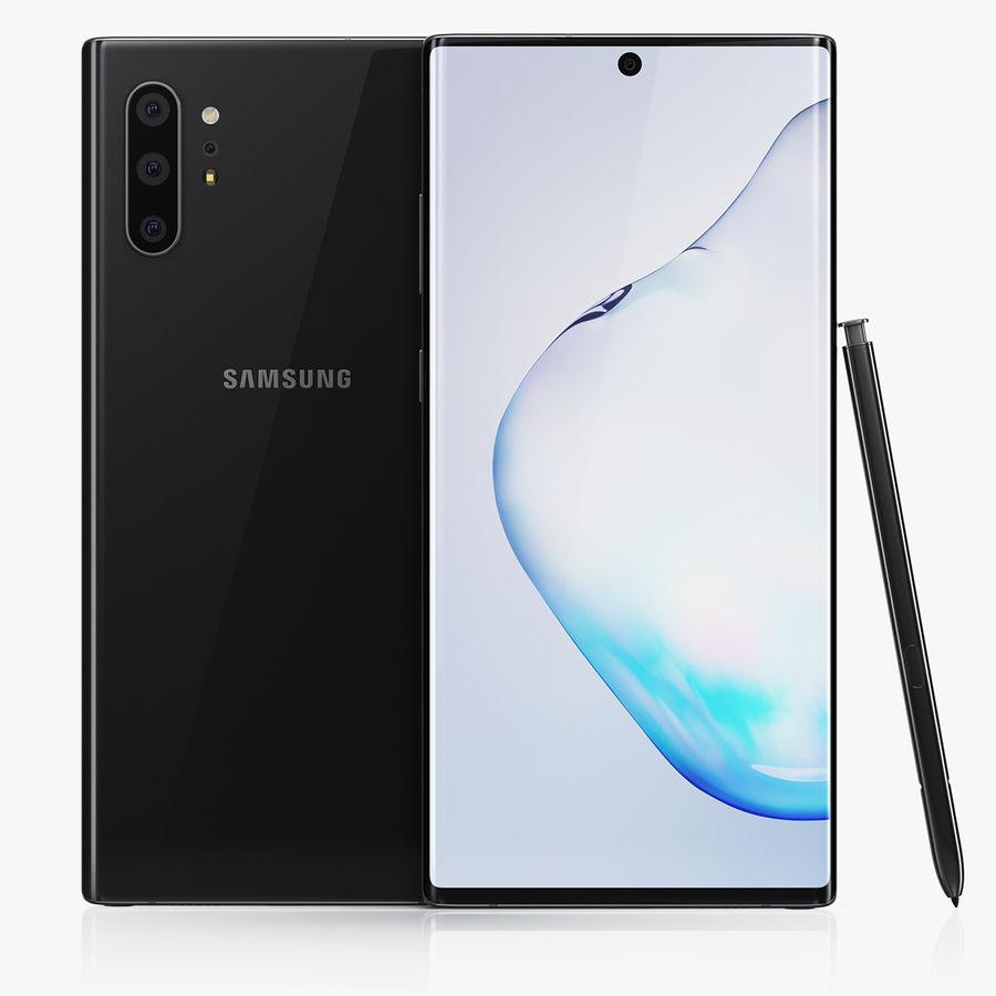 Samsung Galaxy Note 10 Plus 3d Model 39 Max Obj Ma Fbx C4d 3ds Free3d