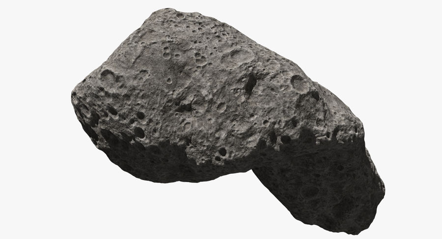 Asteroid Ida royalty-free 3d model - Preview no. 9