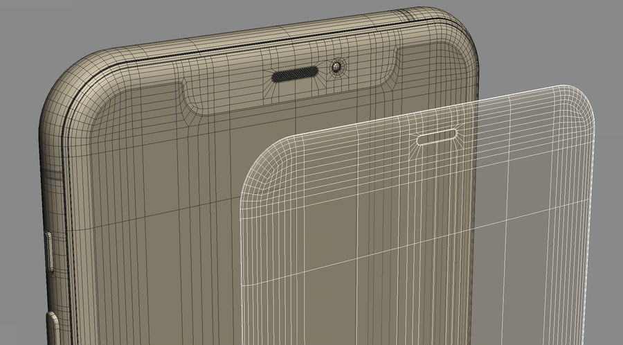 iPhone 11 Pro royalty-free 3d model - Preview no. 23