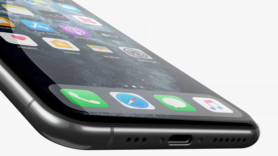iPhone 11 Pro royalty-free 3d model - Preview no. 14