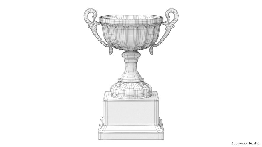 Trophy Cup 2 royalty-free 3d model - Preview no. 7