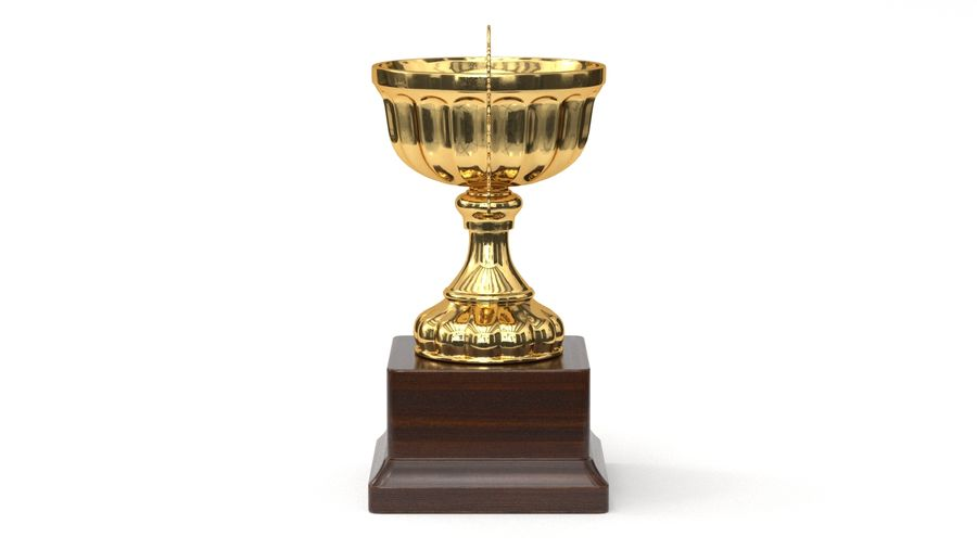 Trophy Cup 2 royalty-free 3d model - Preview no. 5