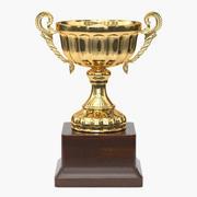 Trophy Cup 2 3d model