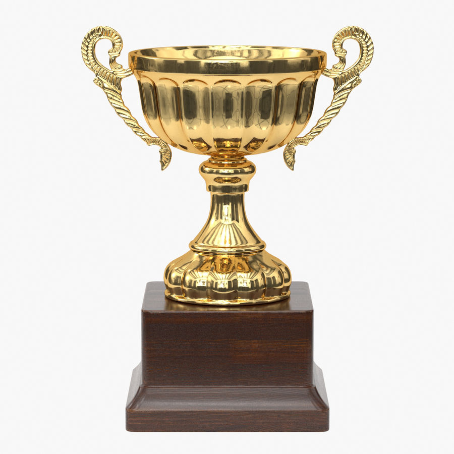 Trophy Cup 2 royalty-free 3d model - Preview no. 1