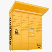 Amazon Delivery Lockers 01 modelo 3d