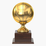 Trophy Cup 9 Basketball 3d model