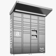 Amazon Delivery Lockers 03 modelo 3d